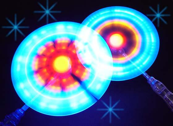 【景品玩具まとめ買い・光るおもちゃのまとめ買い】 光る サークルネオンライト(12個入)