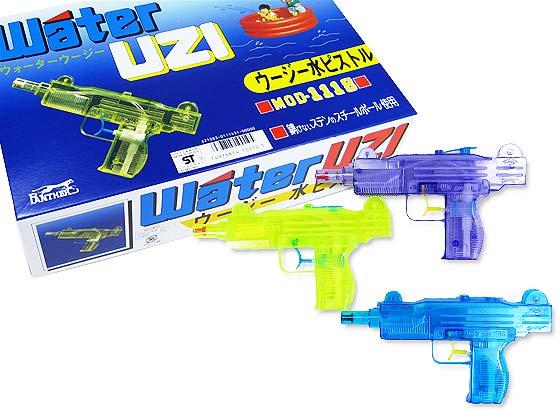 【花火・うちわ・水鉄砲玩具】ウージー水ピストル(12個入)