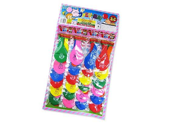 【おもちゃのまとめ買い・エア玩具・風船】 イベントや縁日に タイガー ファミリー風船 (24個付)