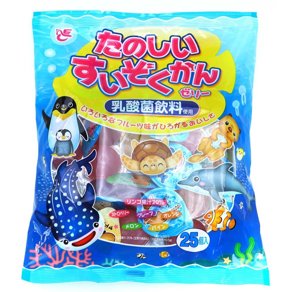 【駄菓子のまとめ買い・ゼリー・ドリンク系の駄菓子】 10本入り フルーツガーデン(12個入)