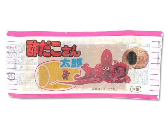 【駄菓子のまとめ買い・珍味系の駄菓子】菓道 酢だこさん太郎 60袋入 (1パック)