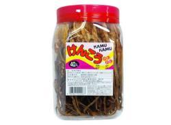 【ポット入り駄菓子のまとめ買い・珍味・イカ系の駄菓子】けんこうカムカム(40本入)【よっちゃん】