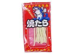 【駄菓子のまとめ買い・珍味・イカ系の駄菓子】 やおきん 焼たら (40個入)