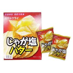 東豊 ポテトフライ じゃが塩バター (10個入) 駄菓子 まとめ買い 小ロット スナック お菓子