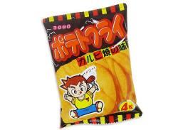 【駄菓子のまとめ買い・スナック系駄菓子】 東豊 ポテトフライ カルビ焼の味 (20個入)