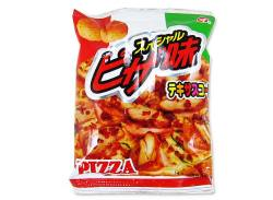 【駄菓子のまとめ買い・スナック系駄菓子】  テキサスコーン ピザ(30個入) 【松山】