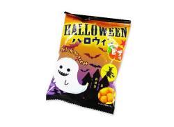 【ハロウィン限定のお菓子】 松山製菓 ハロウィンスナック ピザ味 (30個入)