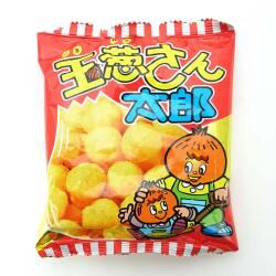 菓道 玉葱さん太郎  (30個入) 駄菓子 まとめ買い スナック系駄菓子】