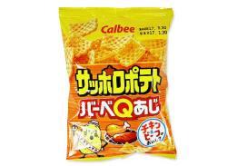 お菓子まとめ買い・スナック系のお菓子 カルビー サッポロポテト BBQ 24g (24個入)