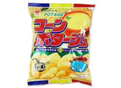 駄菓子のまとめ買い・スナック系の駄菓子 リスカ 35g コーンポタージュ (24袋入)
