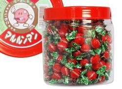 【駄菓子のまとめ買い・チョコ系の駄菓子】  360g マルルンマン いちごチョコ 【タカオカ】