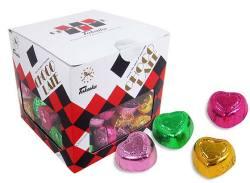【駄菓子のまとめ買い・チョコ系の駄菓子】 タカオカ ハートチョコレート ポット入