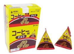 【駄菓子のまとめ買い・チョコ系の駄菓子】 オリオン コーヒー味チョコ(40個入)