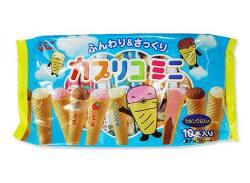 【お菓子のまとめ買い・チョコ系の駄菓子】グリコ カプリコミニ 大袋 10本(12袋入)