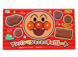 お菓子のまとめ買い・チョコ系のお菓子 不二家 アンパンマンミニミニチョコレート (10個入)