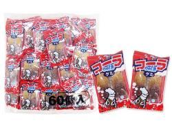 【駄菓子のまとめ買い・グミ・お餅系の駄菓子】 サワーコーラグミ(60個入)【やおきん】