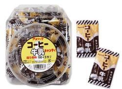 【駄菓子のまとめ買い・飴・キャンディ系の駄菓子】 アメハマ 当り付き コーヒー牛乳 キャンディ(100個入+3当り)