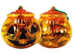 【お菓子のバラ売り・飴系のお菓子】 アメハマ ハロウィンかぼちゃポットキャンディ 70g