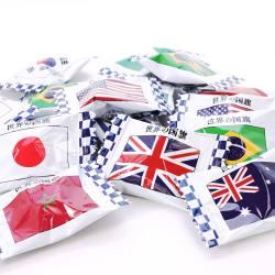 キッコー 世界の国旗キャンディー 1kg  (1個売り)