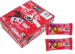 【駄菓子のまとめ買い・ガム系の駄菓子】 マルカワ 赤ベーガム (50個プラス当たり3個)