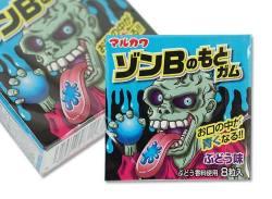 駄菓子のまとめ買い・ガム系の駄菓子 マルカワ ゾンBのもとガム (18コ入)