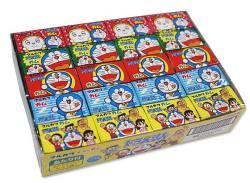 駄菓子のまとめ買い・ガム系の駄菓子 マルカワ ドラえもん フーセンガム ソーダ味 (55+5個あたり入)