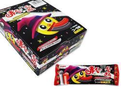 お菓子のまとめ買い・ガム系の駄菓子マルカワ 2本入バーガム 赤ベー黒ベーガム コーラ味 (20個入)