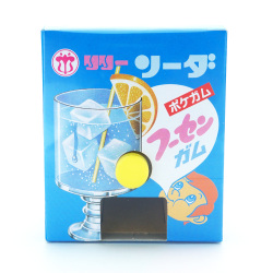 リリー 玉出しガム ソーダ ポケガム (18個入 ) 駄菓子 まとめ買い ガム お菓子