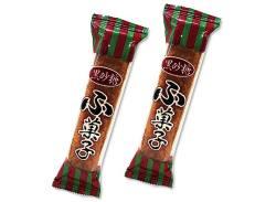 【駄菓子のまとめ買い・ビスケット系の駄菓子】 やおきん 黒砂糖 角ふ菓子 (30個入)