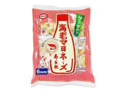 【お菓子のまとめ買い・焼菓子のお菓子】  亀田 海老マヨネーズあられ6p(12袋入)
