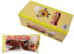 駄菓子のまとめ買い・焼菓子のお菓子 やおきん ホットケーキ メープルシロップ(20個入)