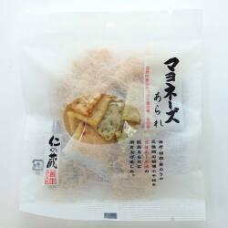 高橋製菓 仁の蔵 マヨネーズ あられ 30g (12個入) お菓子 おかき 米菓 まとめ買い 問屋