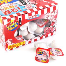 丹生堂 コーラ ボール ラムネ アタリ付き (105付金券分15個) 駄菓子 まとめ買い ラムネ お菓子