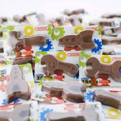 丹生堂 当たり付き DIYシリーズ 工具チョコ  (50個入 + おまけ 4個) 駄菓子 まとめ買い チョコ  業務用 お菓子