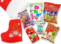 【 クリスマスお菓子の詰め合わせ 】 37cm クリスマス限定セット クリスマスブーツ型 お菓子詰め合わせ・セットA