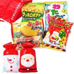30cmクリスマス限定セット クリスマスお菓子詰め合わせセットA (サンタ)