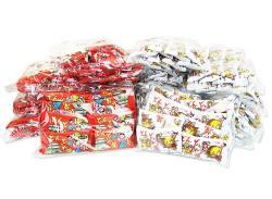 駄菓子セット・お菓子の詰め合わせ 菓道 どんどん焼き 2種300個 詰め合わせセット