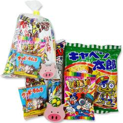 【駄菓子セット・お菓子の詰め合わせ】 河中堂 100円 お菓子詰め合わせ Cセット