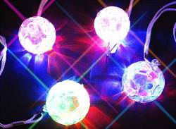 【縁日・おもちゃのまとめ買い】【 光り物玩具】 光るおもちゃシリーズ サッカーペンダント (25個入)
