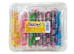 【駄菓子のまとめ買い・ゼリー・ドリンク系の駄菓子】 こんにゃくゼリー(50本入)【坂製菓】
