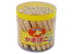 ポット入り駄菓子のまとめ買い・珍味・イカ系の駄菓子 やおきん 北海道産 チーズ入りかまぼこ(50本入)