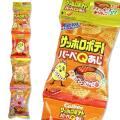 【お菓子のばら売り・スナック系のお菓子】 カルビー サッポロポテト BBQ 4パック (バラ売り)