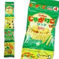 【お菓子まとめ買い・スナック系のお菓子】 カルビー 56g じゃがりこbits4 サラダ(12個入)