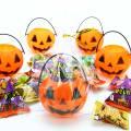ハロウィン 限定 かぼちゃの お菓子 詰め合わせ  (6個入) ハロウィンパッケージ おかし くじ引き パーティ 景品 駄菓子