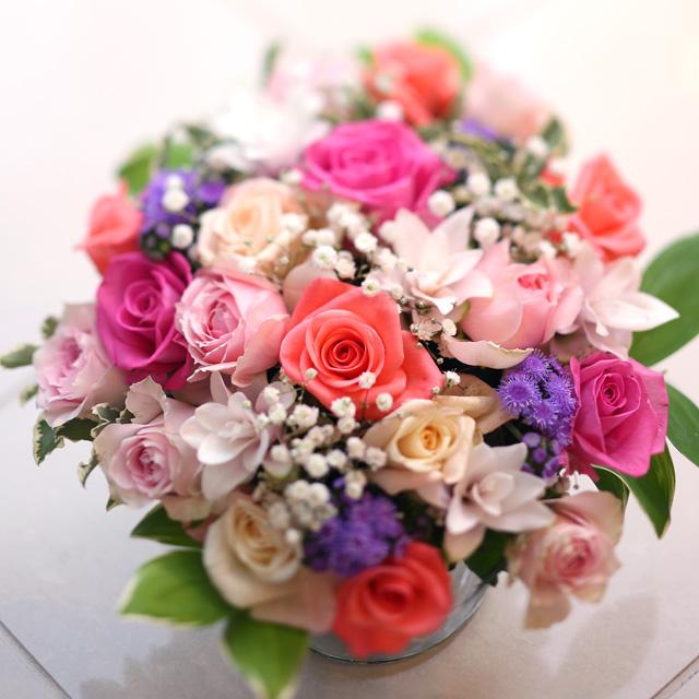 花瓶バラ3000円A(花瓶バラ)◆