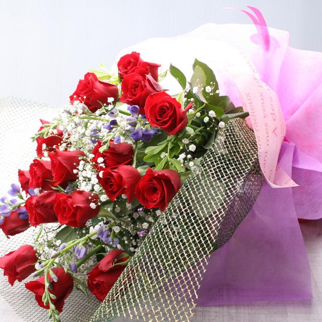 花束ワンサイド5000円A(生花)◆