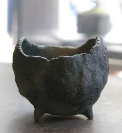 炭化焼締鉢201211m
