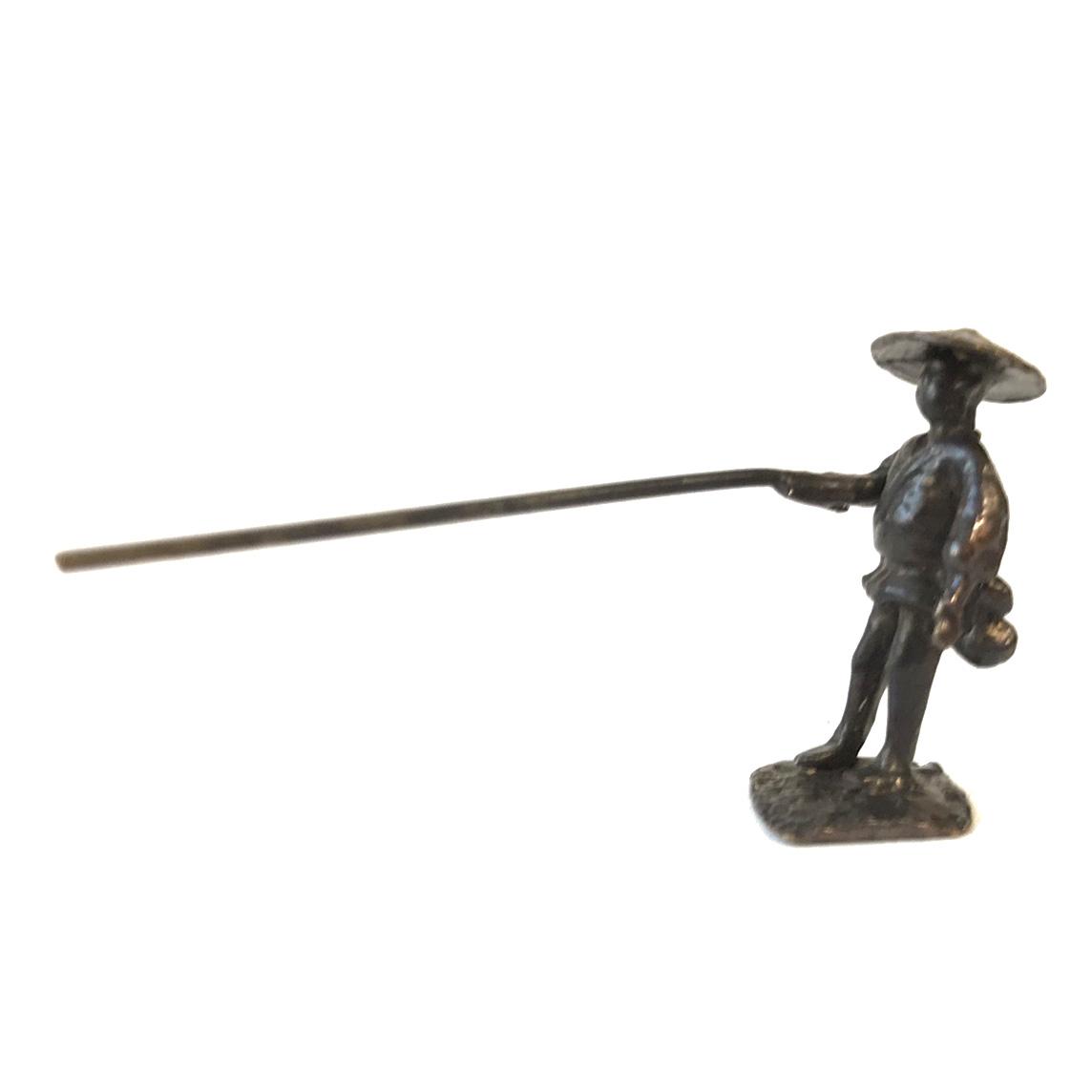 盆景 釣り人
