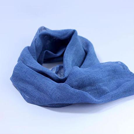 ヘンプストール 本藍染