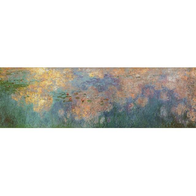 モネ 睡蓮、水のエチュード 雲 複製画 オランジュリー美術館